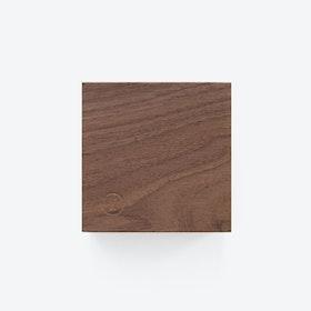 Traktor | Magnetic Wood Block in Walnut