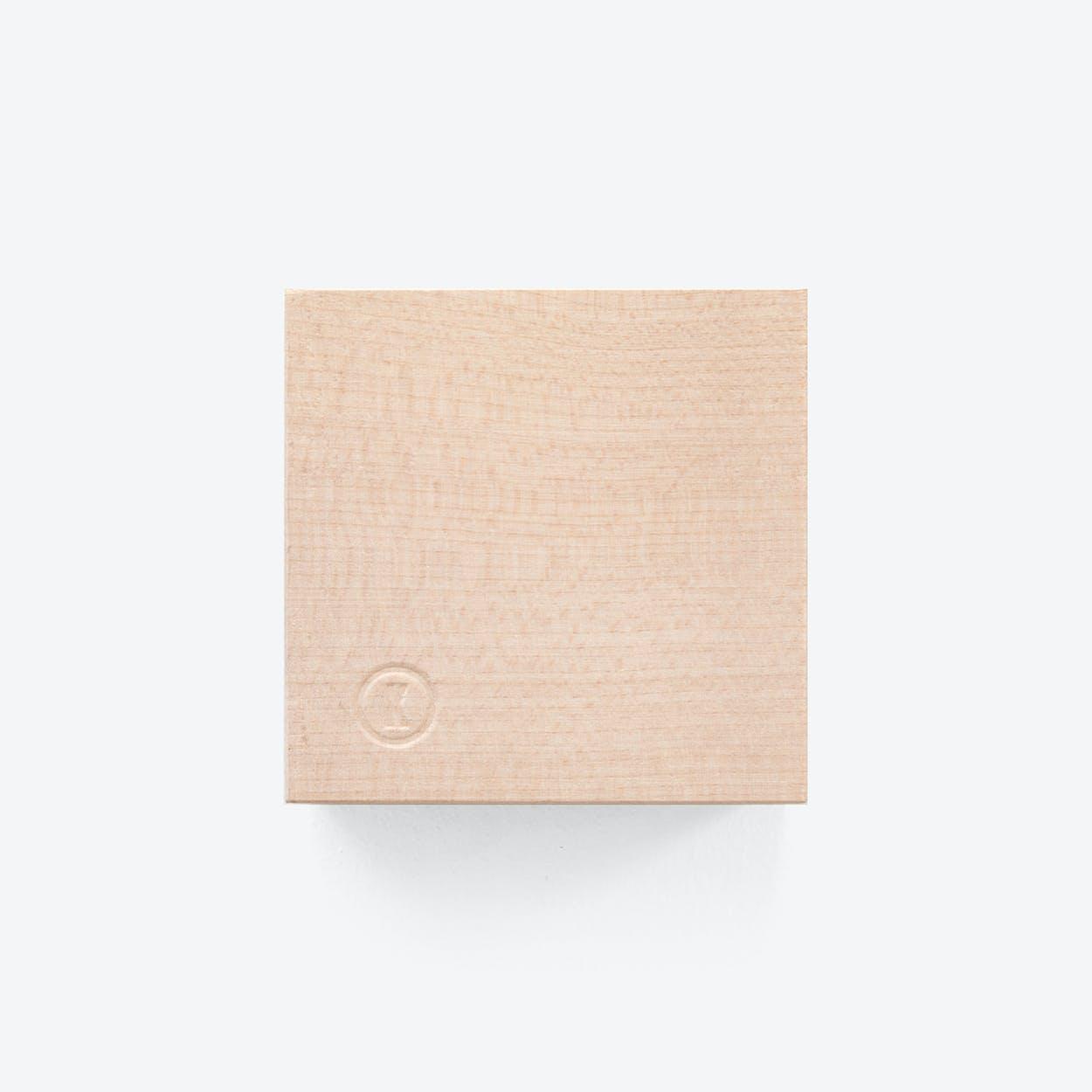 Traktor | Magnetic Wood Block in Maple