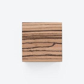 Traktor | Magnetic Wood Block in Zebrano