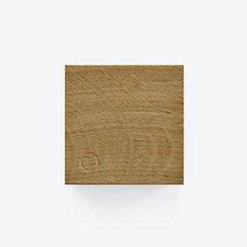 Traktor | Magnetic Wood Block in Cross Cut Oak