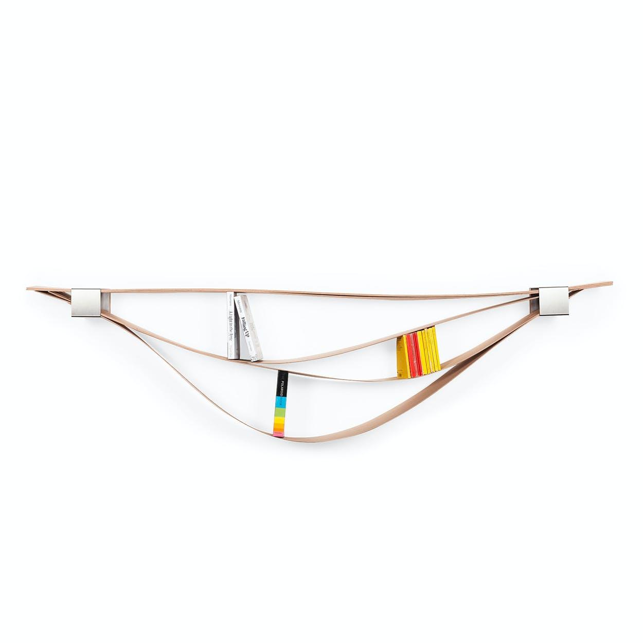 Chuck Wooden Flexible Wall Shelf Original