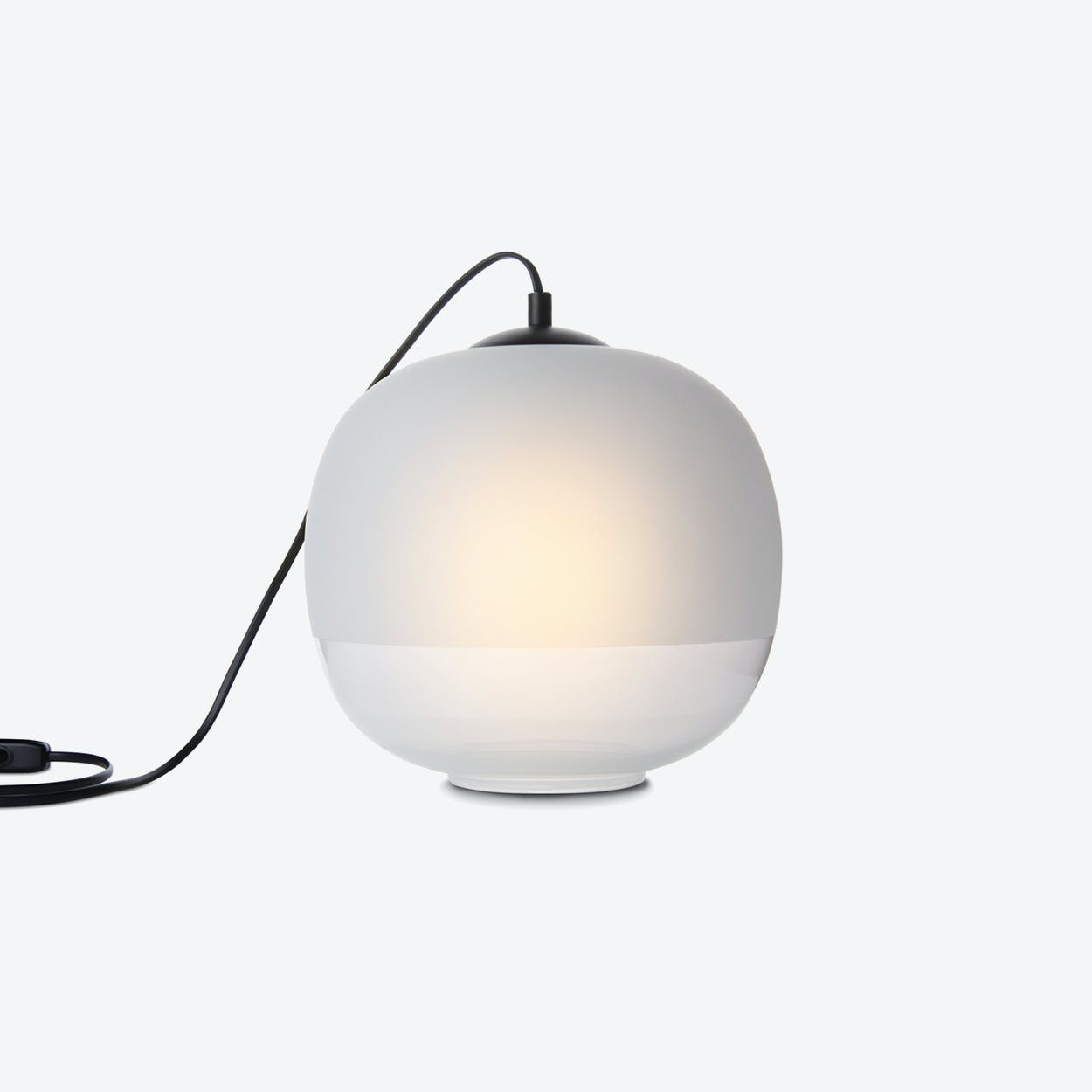 Bale Table Lamp in White