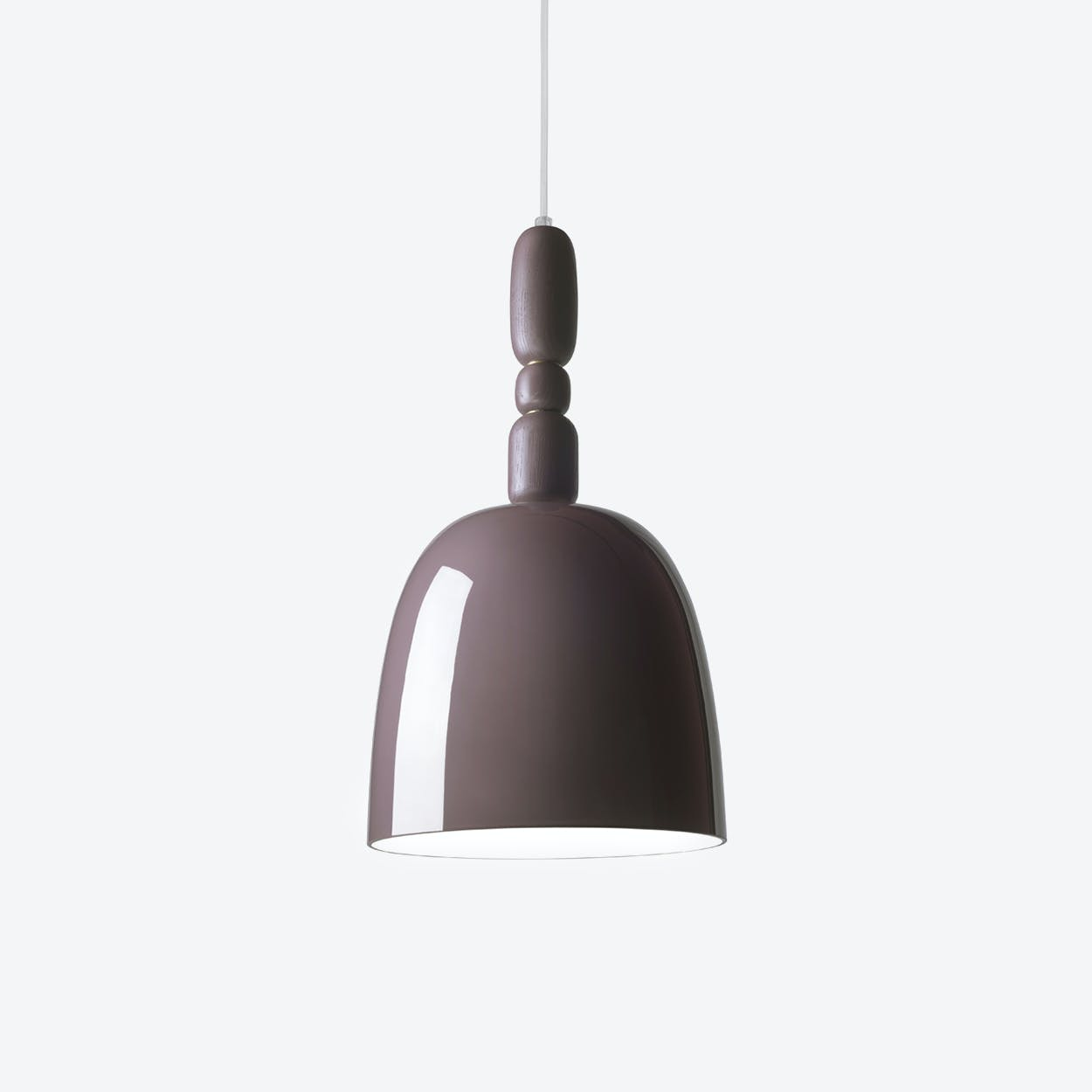 Cece Pendant Lamp in Chocolate
