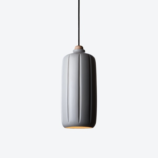 Cosse Large Pendant Lamp in Dark Grey
