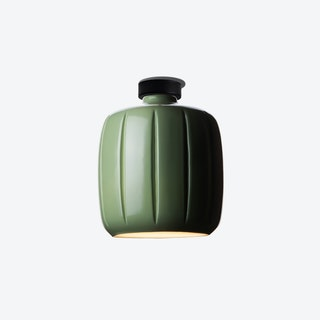 Cosse Small Ceiling Lamp in Green