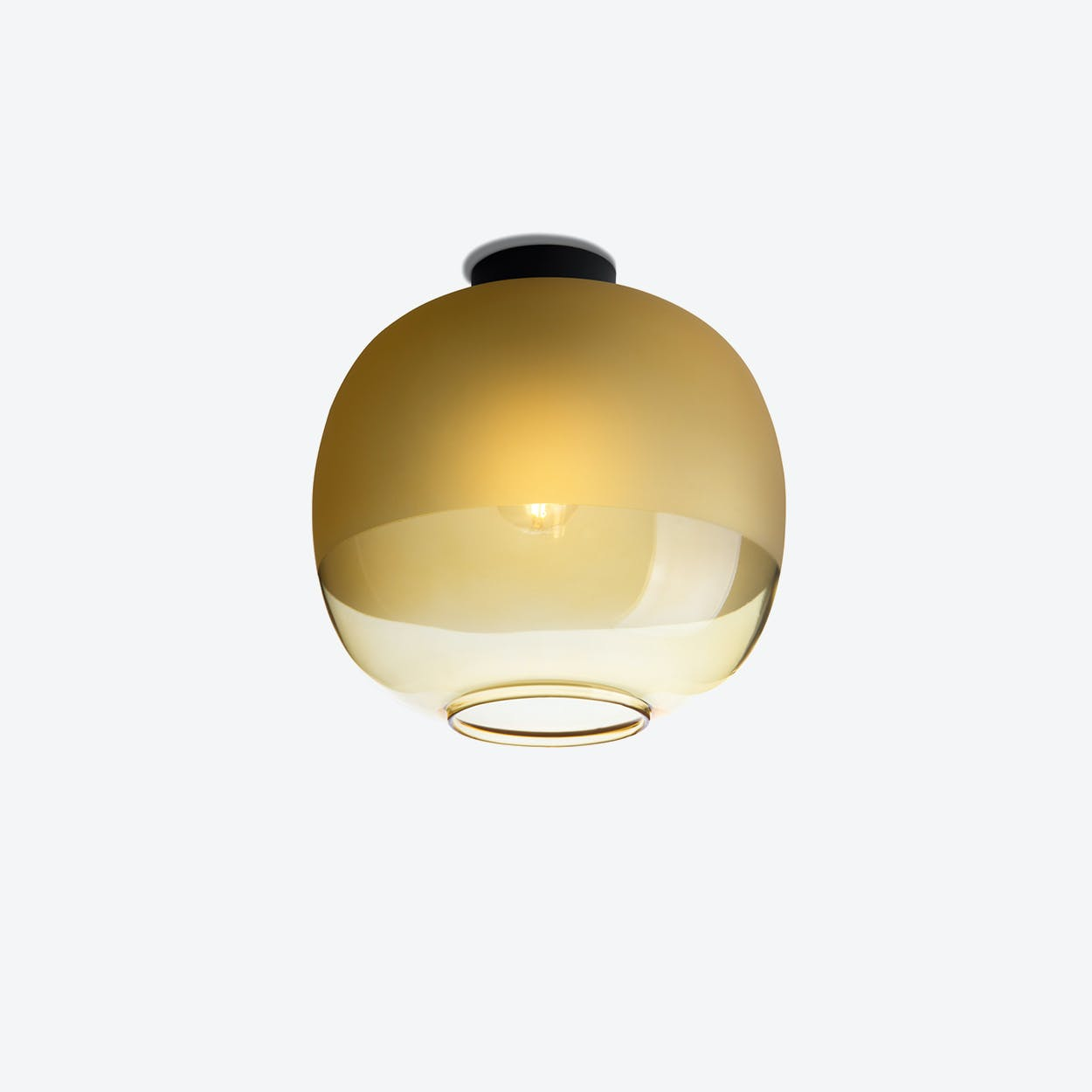 Bale Ceiling Lamp in Amber