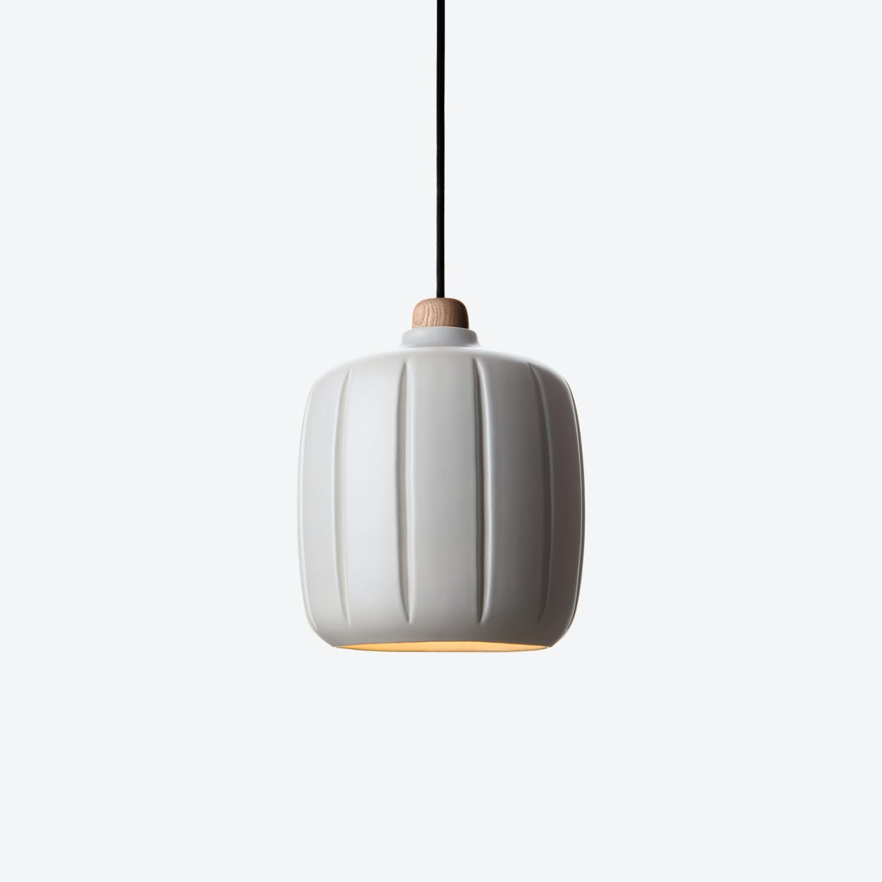 Cosse Small Pendant Lamp in Light Grey