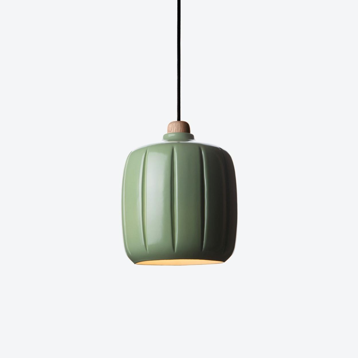 Cosse Small Pendant Lamp In Green