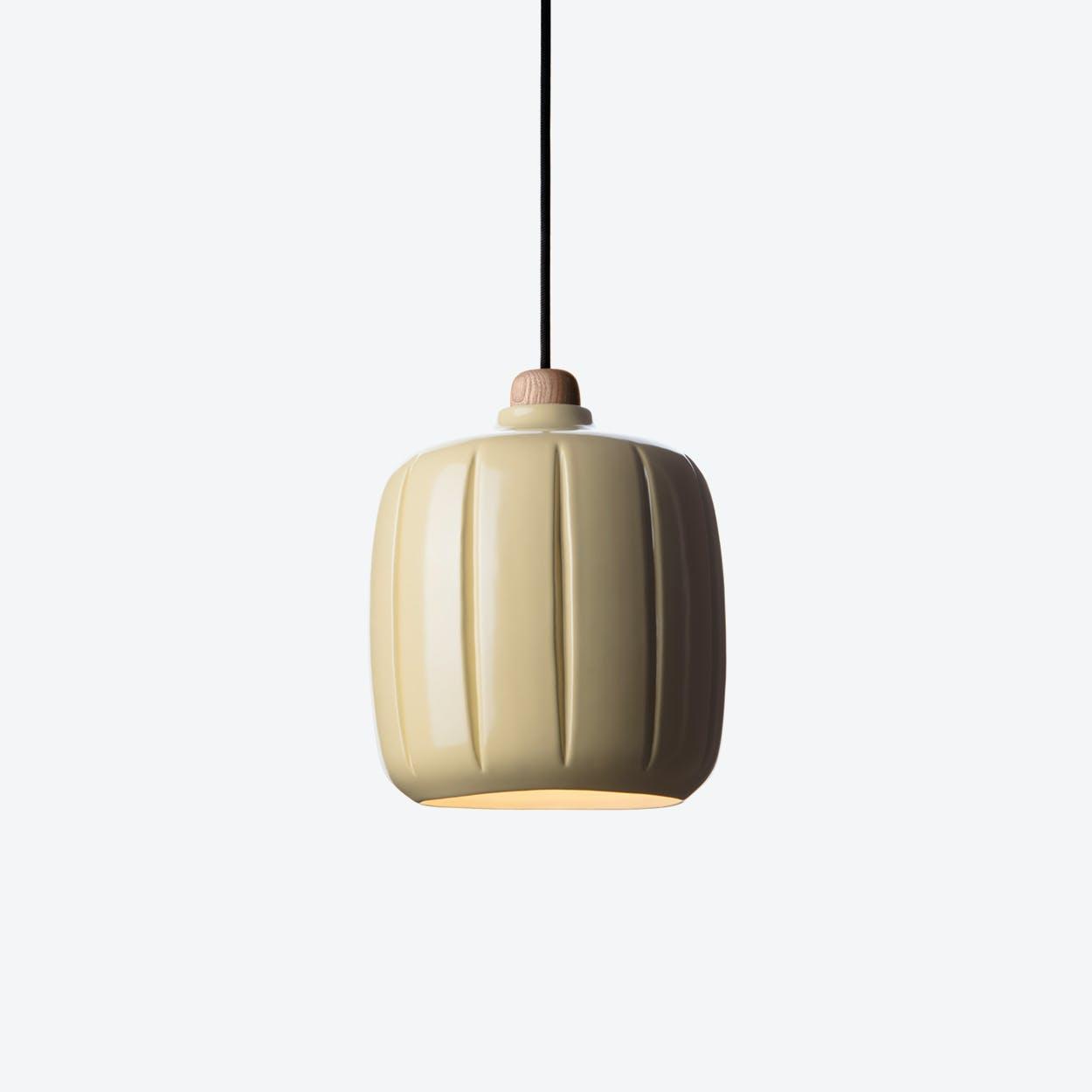 Cosse Small Pendant Lamp in Yellow