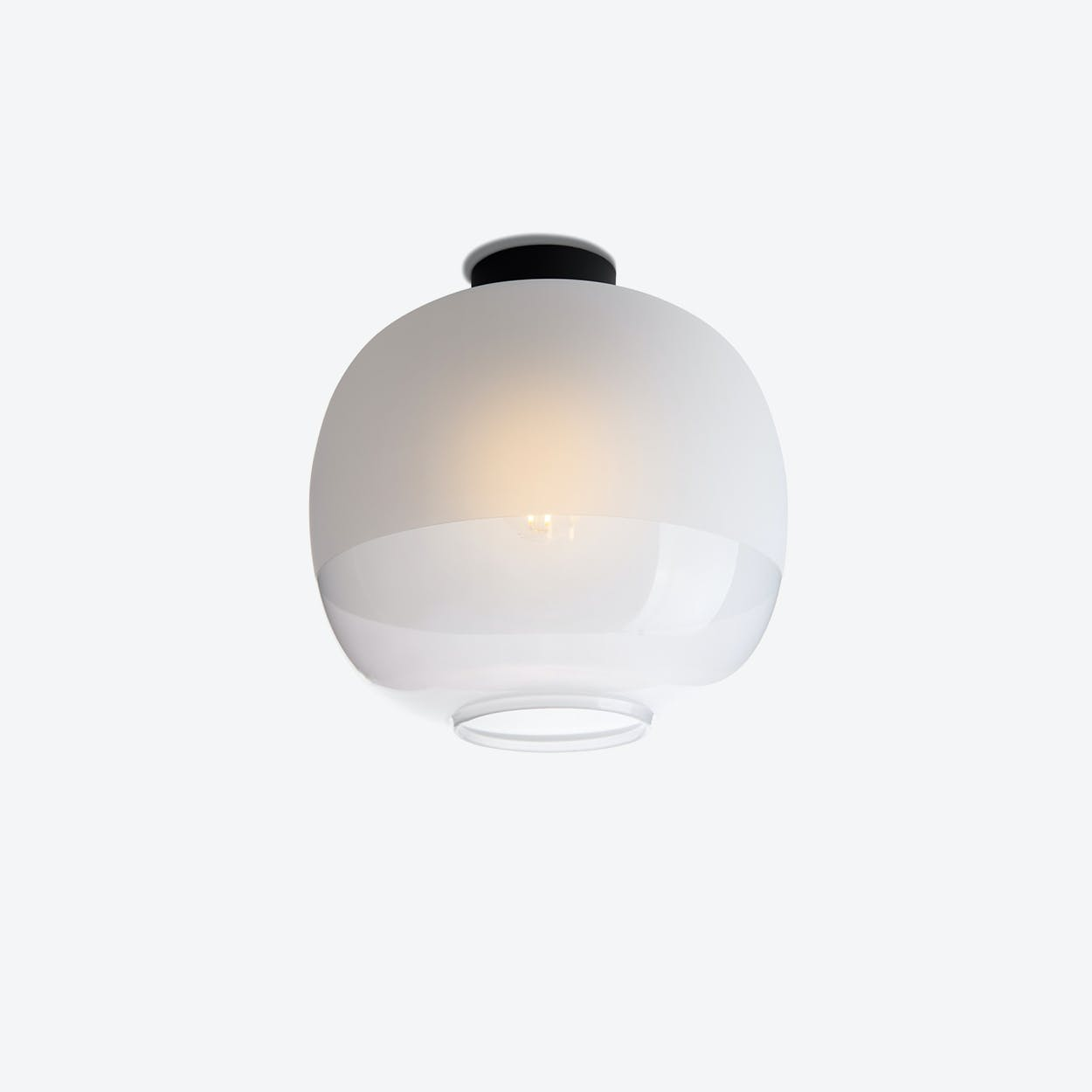Bale Ceiling Lamp in White