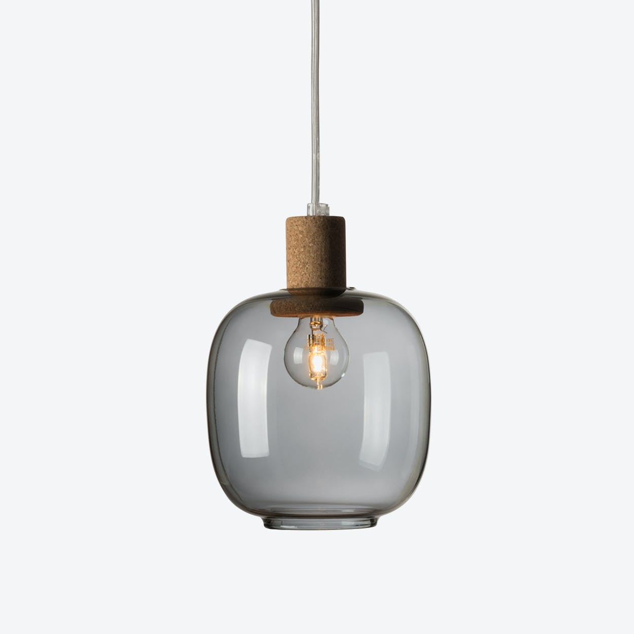 Picia Pendant Lamp in Grey