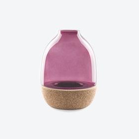 Pitaro Vase in Purple