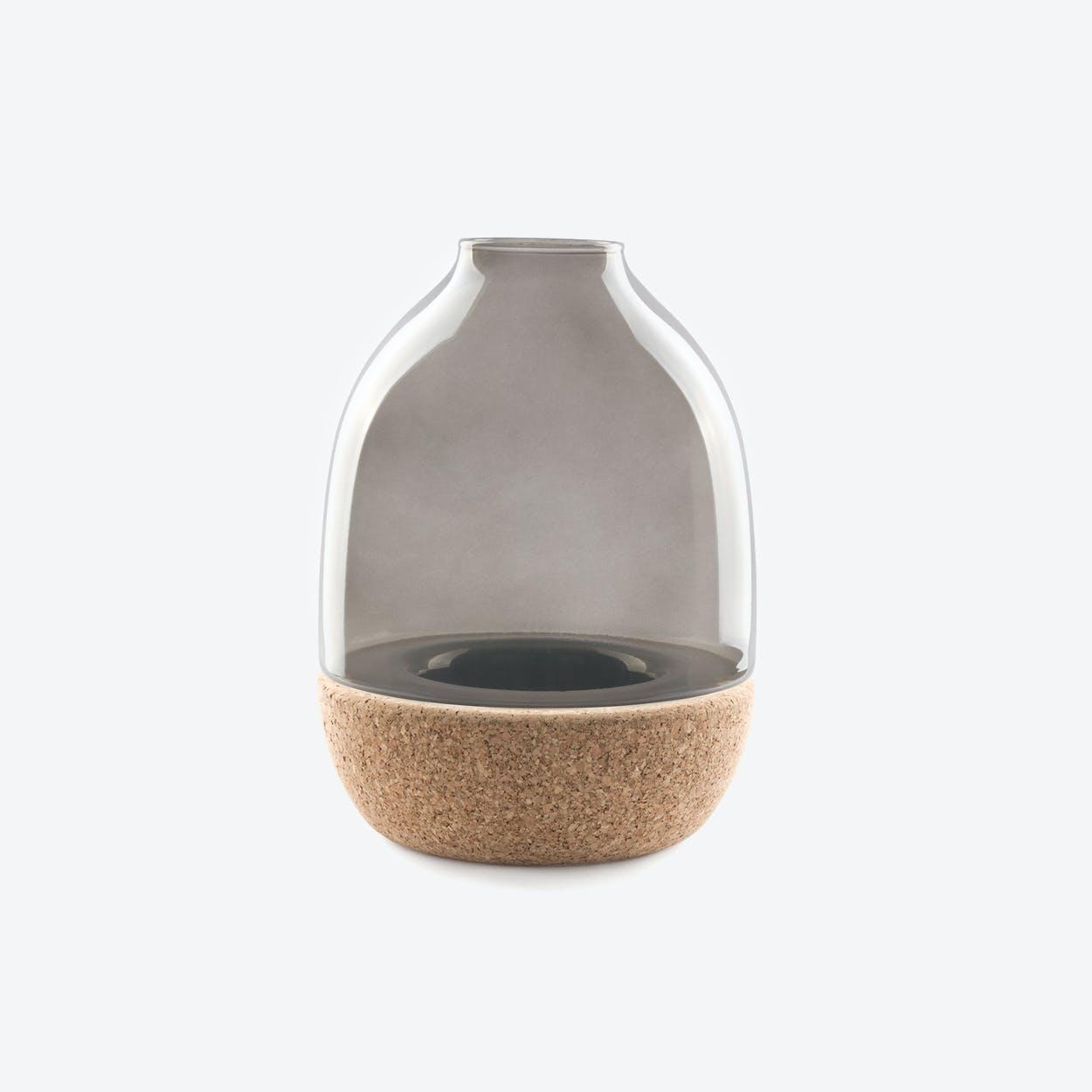 Pitaro Vase in Grey