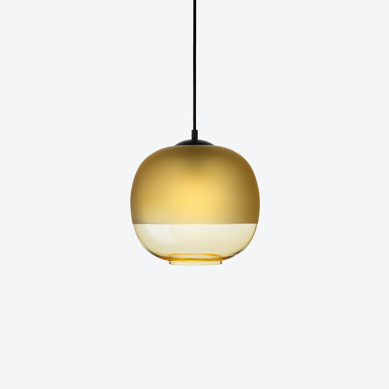 Bale Pendant Lamp in Amber