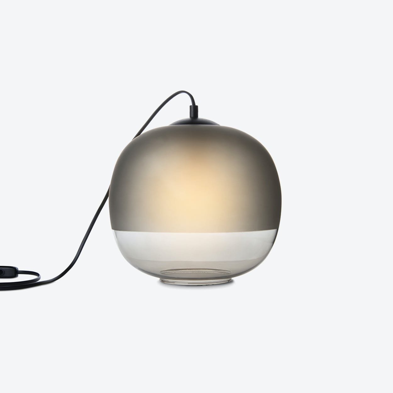 Bale Table Lamp in Grey