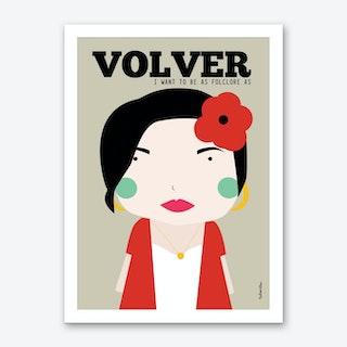 Little Volver Art Print