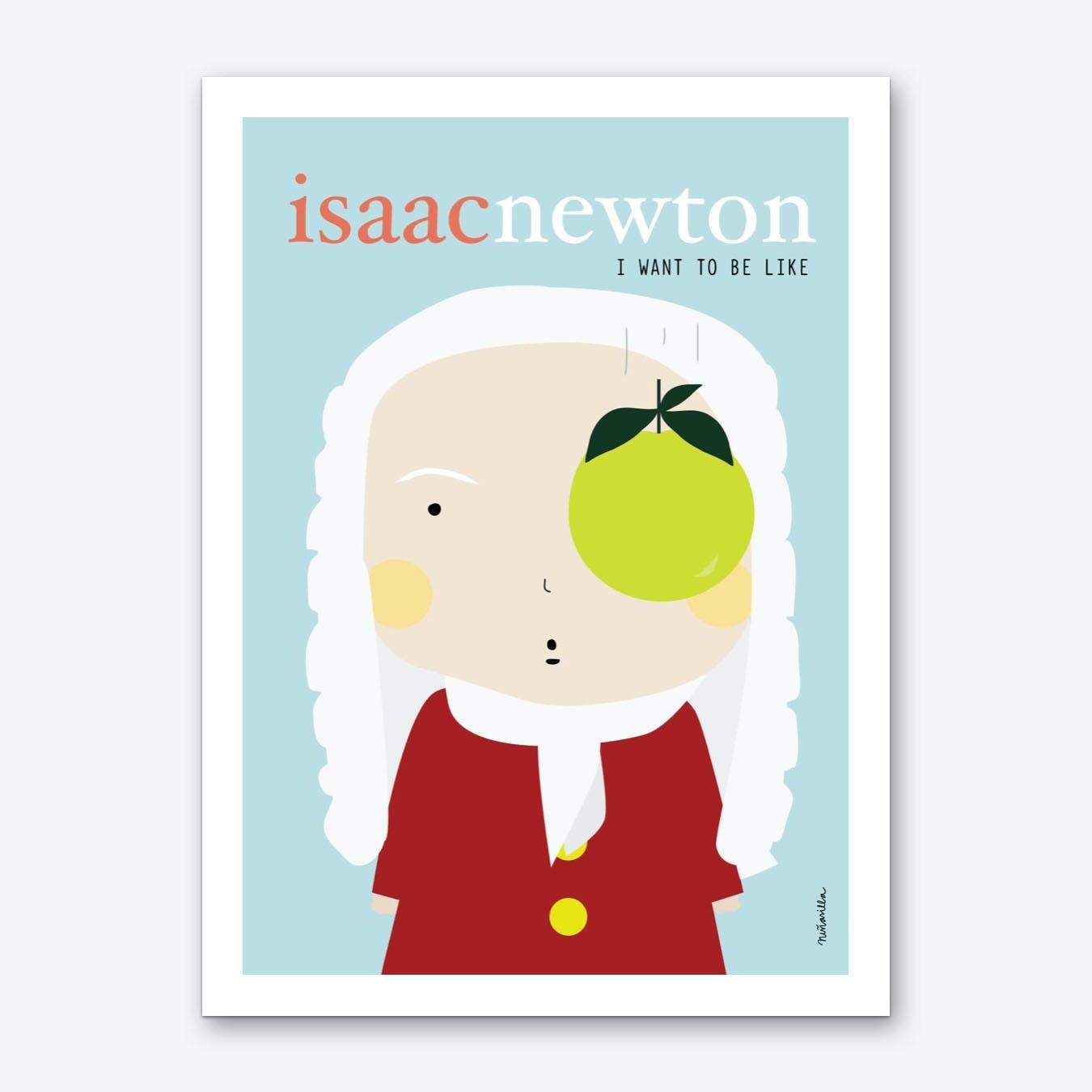 Little Newton Art Print