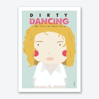 Little Dancing Art Print