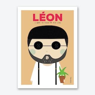 Little Leon Art Print