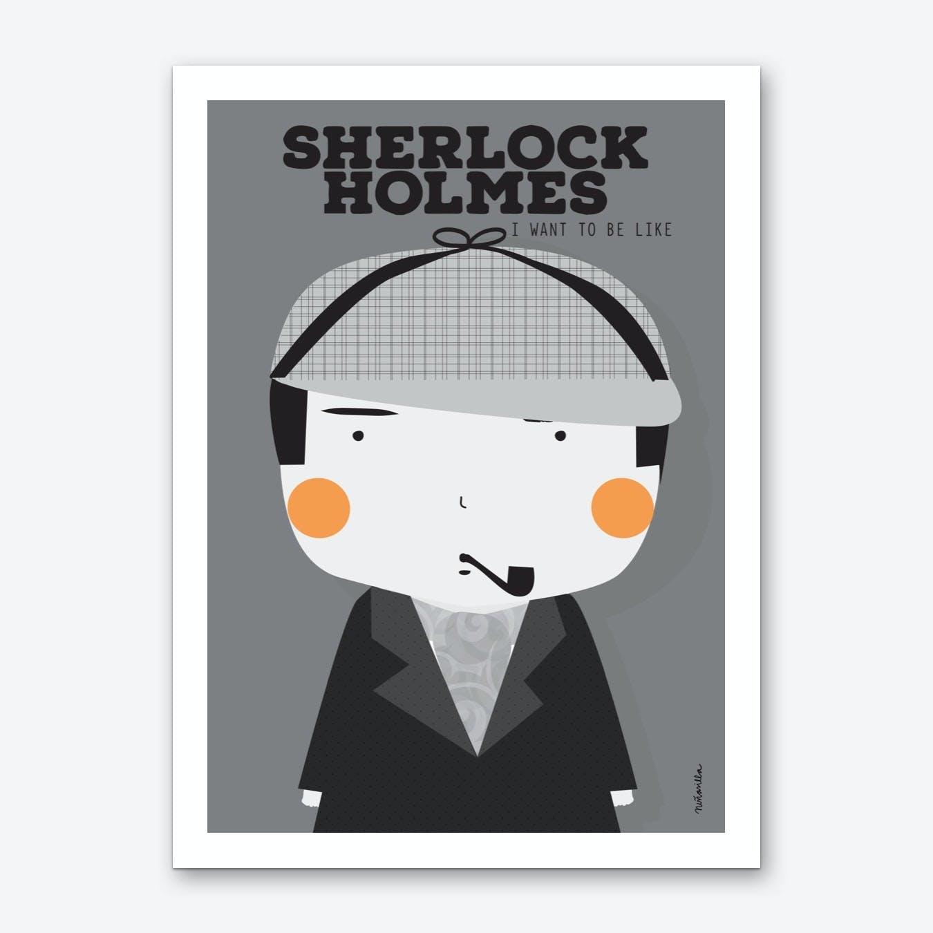 Little Holmes Art Print