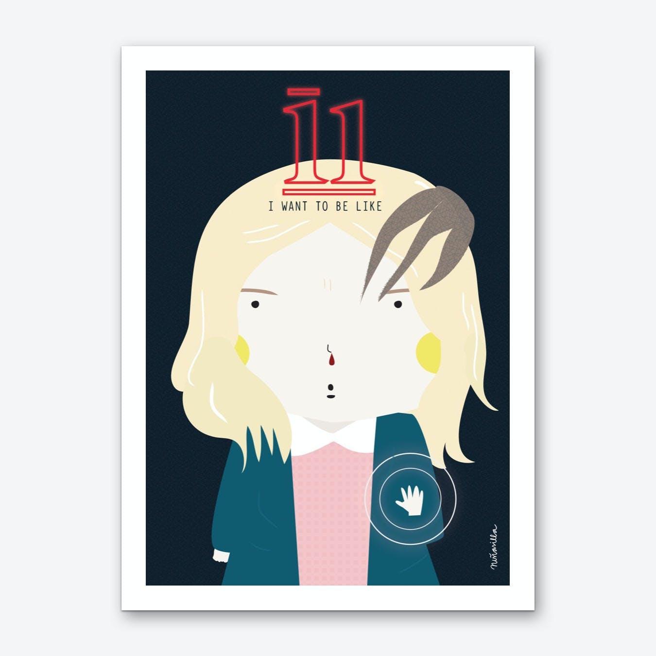 Little 11 Art Print