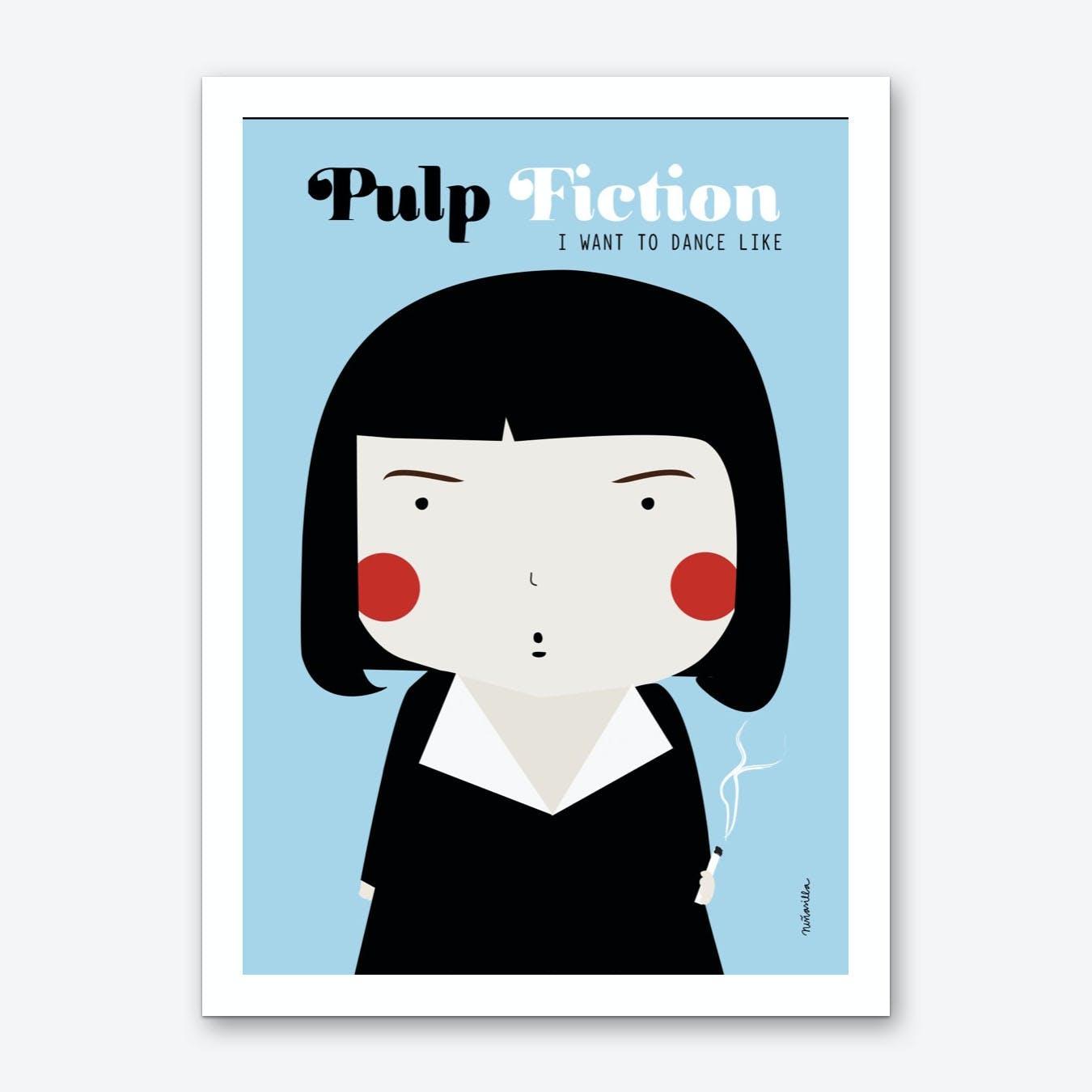 Little Pulp Art Print
