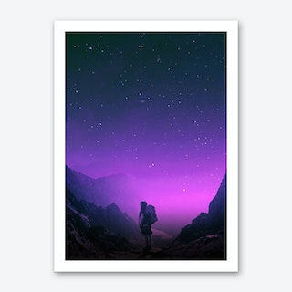 Not All Those Who Wonder Are Lost Art Print