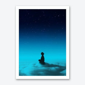 Cloud Rider Star Series Art Print