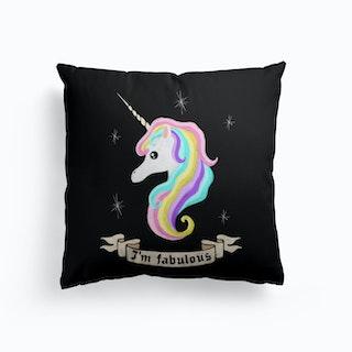 Fabulous Unicorn Cushion