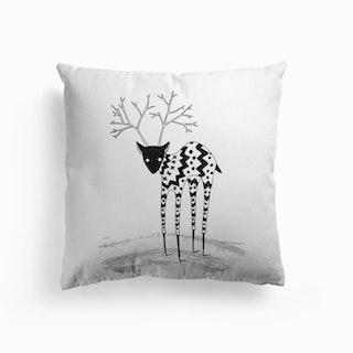 Cozy Reindeer Cushion