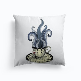 Kraken Tea Cushion