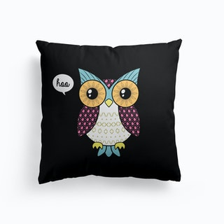 Fancy Owl Cushion