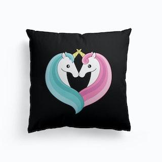 Unicorn Heart Cushion