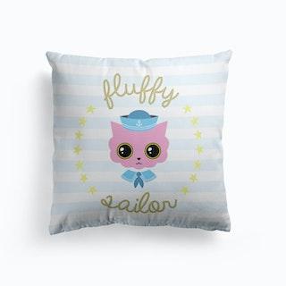 Fluffy Sailor Cushion