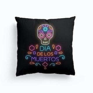 Dia de Los Muertos Cushion