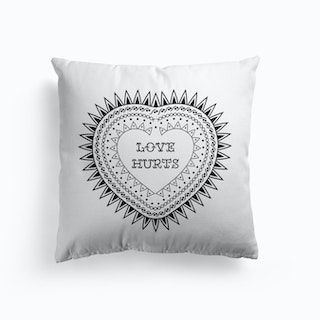 Love Hurts Cushion