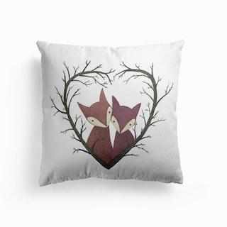 Fox Love Cushion