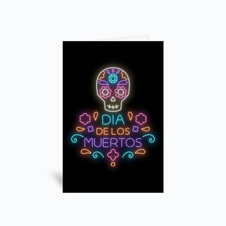 Dia de Los Muertos Greetings Card
