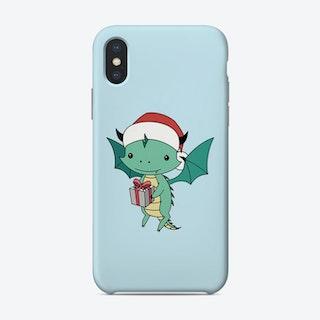 Christmas Dragon Phone Case