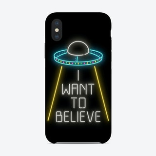 I Want to Believe Phone Case