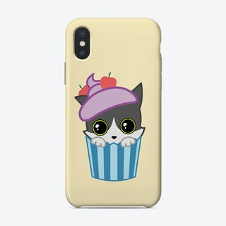 Cupcake Kitty Phone Case