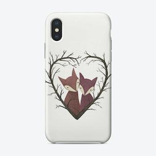 Fox Love Phone Case