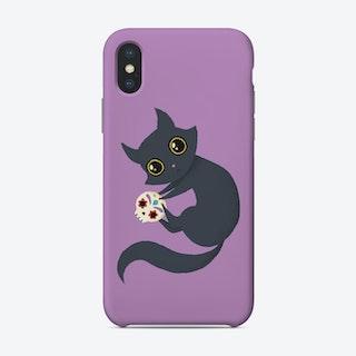 Kitty Sugar Skull Phone Case