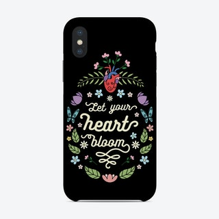 Let Your Heart Bloom Phone Case