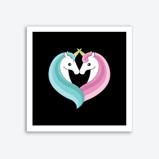 Unicorn Heart Art Print