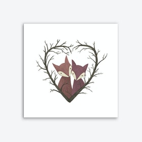 Valentine X Art Print