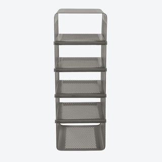 Big Wall Shoe Rack in Matte Grey/Taupe