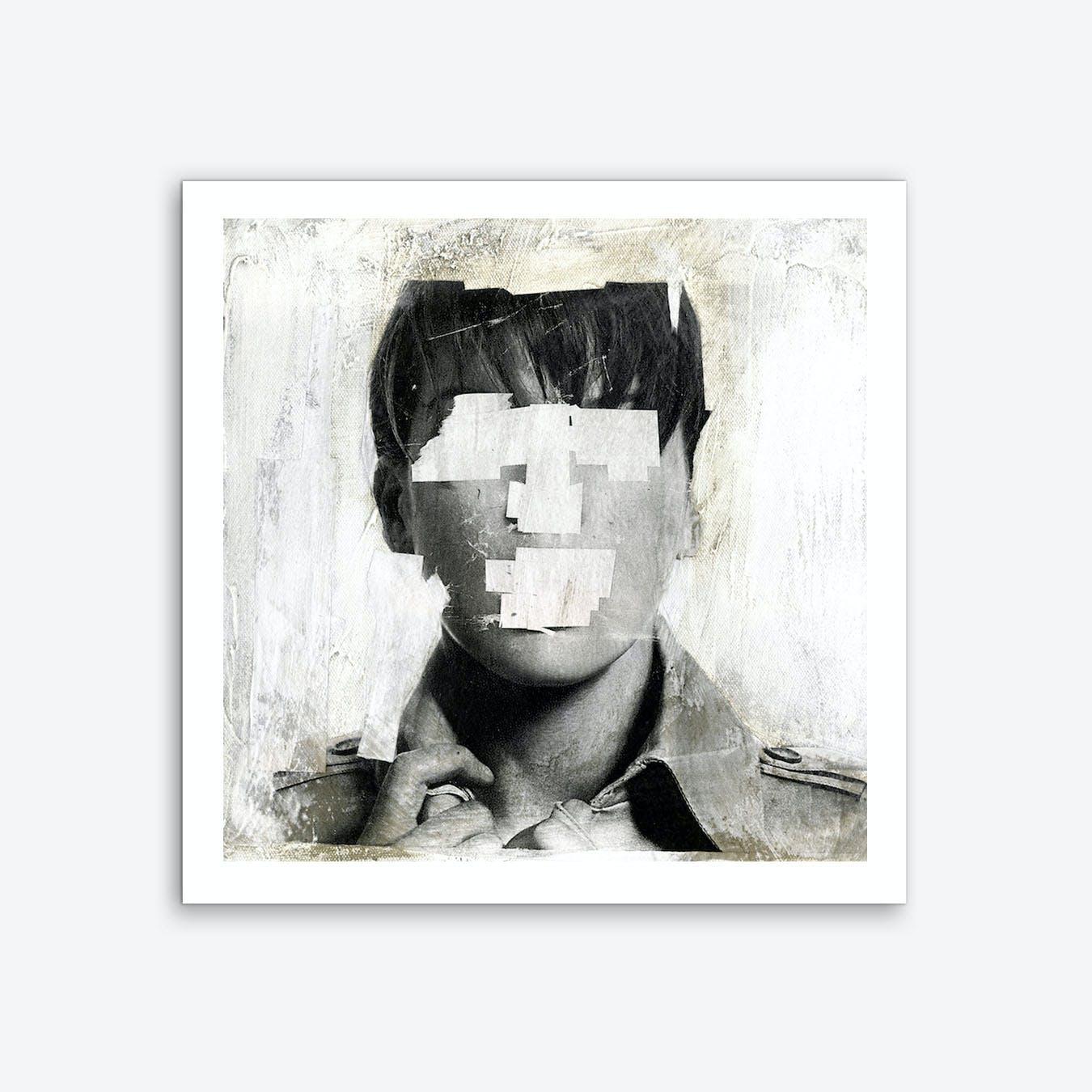 Faceless 02 Art Print