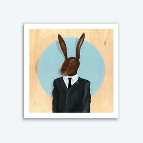 David Lynch - Rabbit Art Print