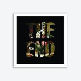 THE END I Art Print